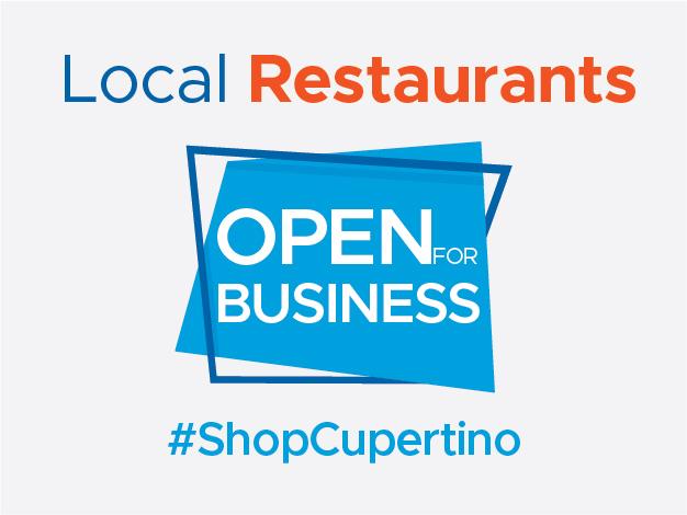 Business & Restaurants Open #ShopCupertino_Small Banner 1